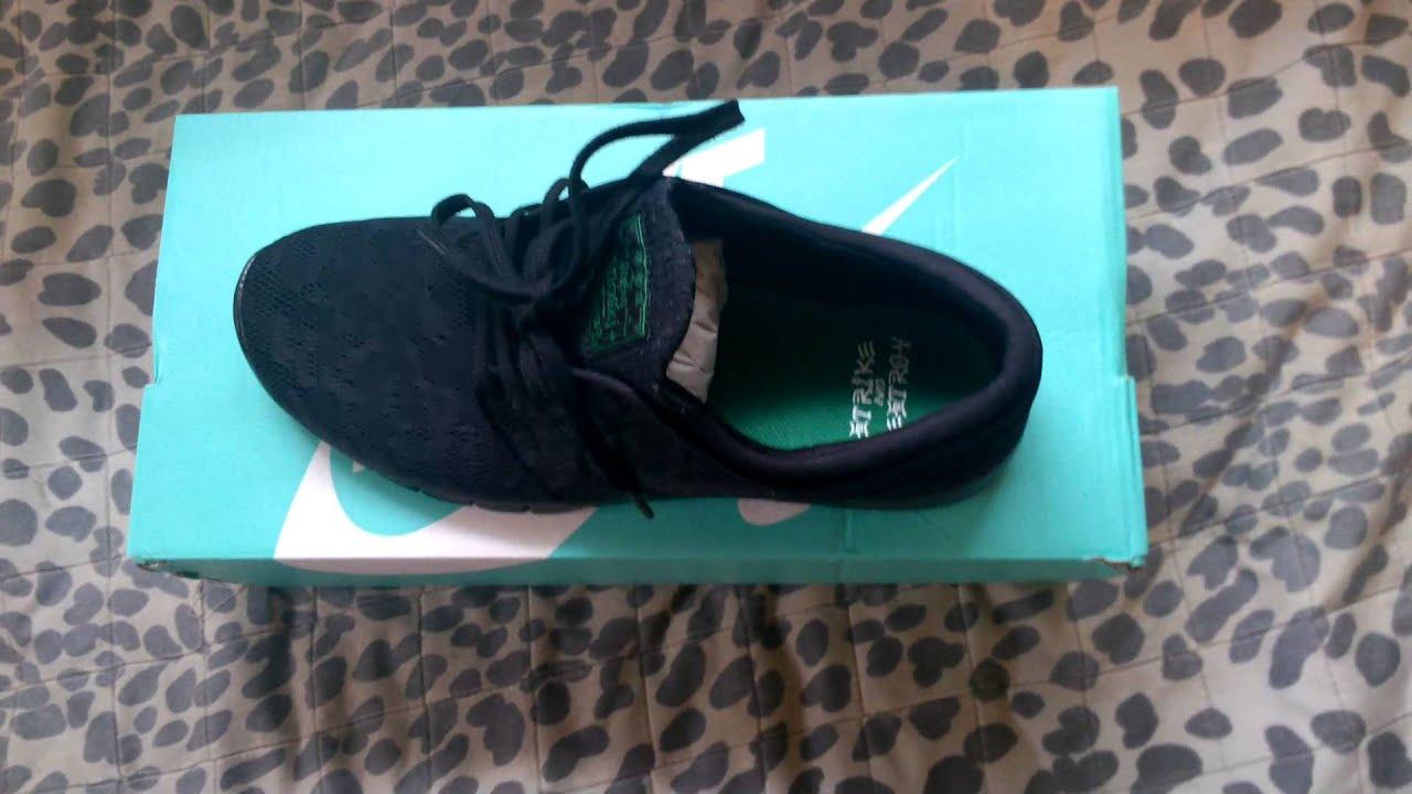 Nike SB Stefan Janoski Max Black Pine Green Black
