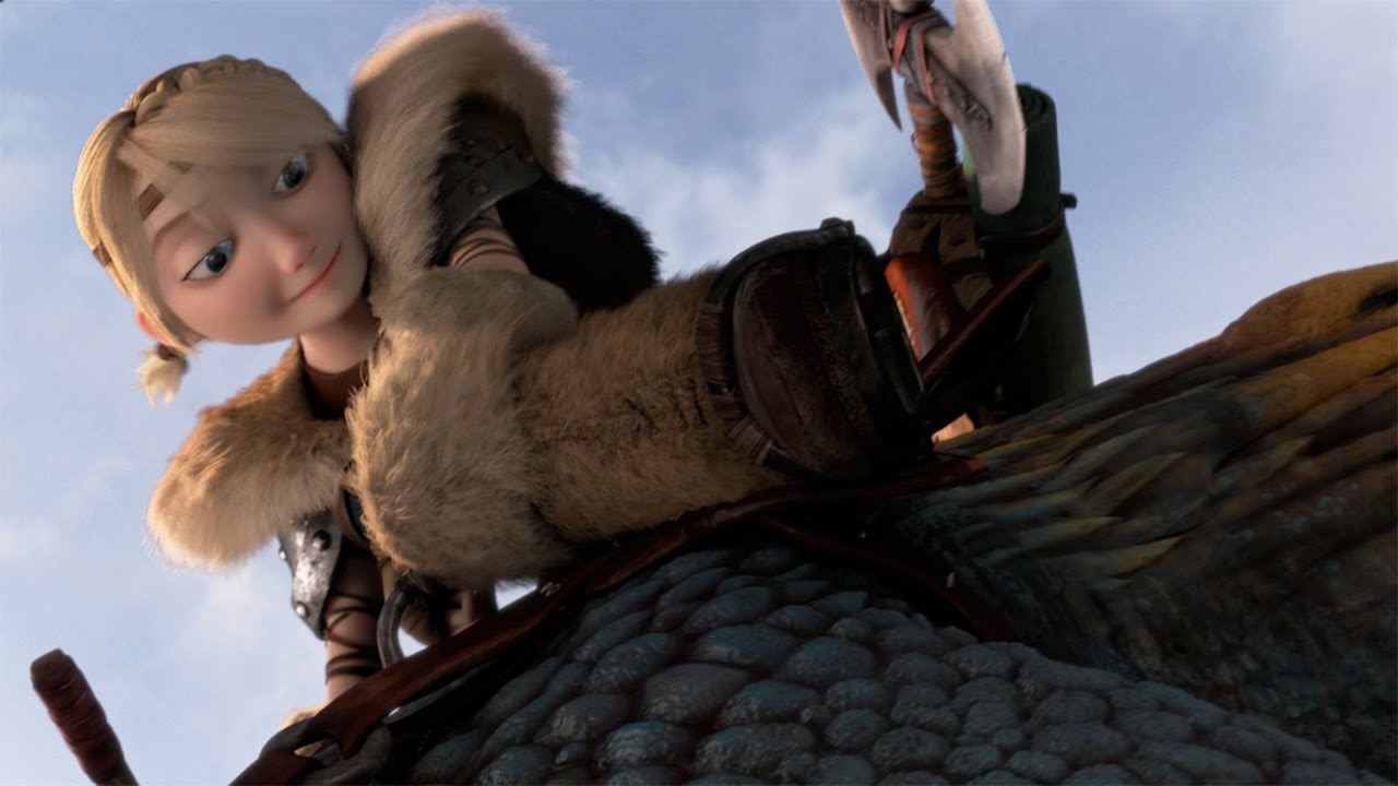 How To Train Your Dragon 2 Stormfly Fetch Clip Youtube