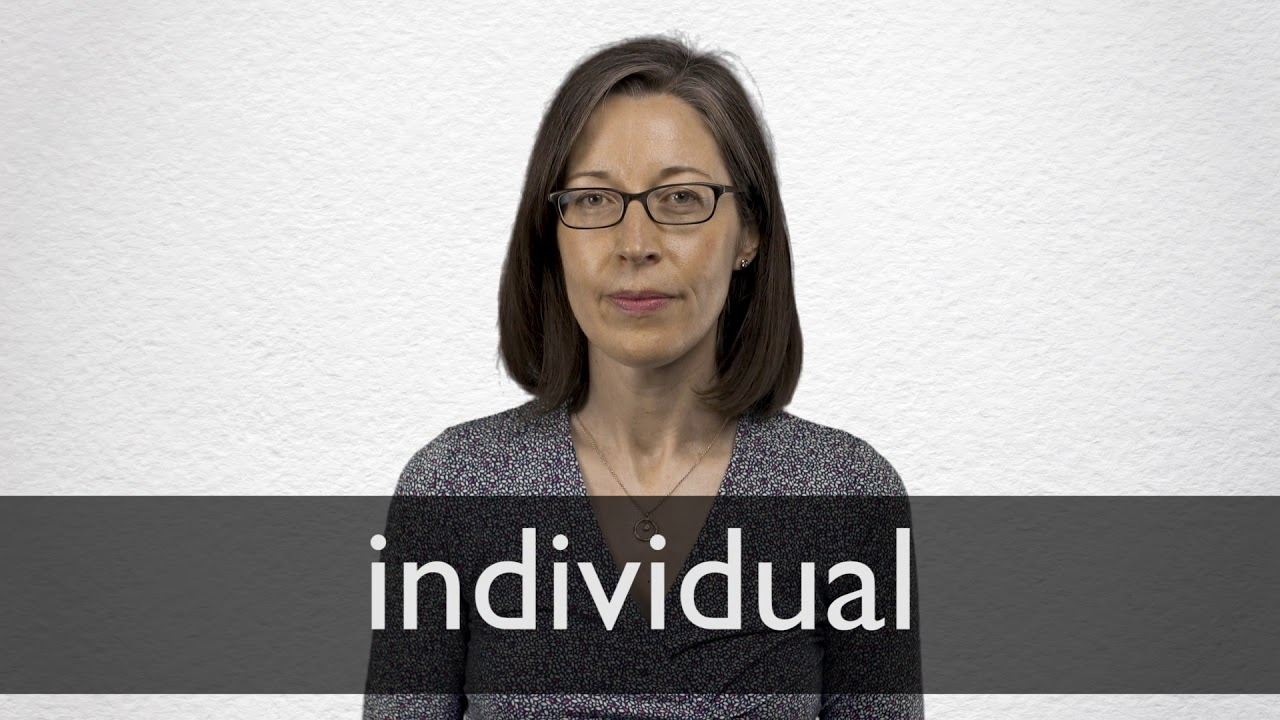 How to pronounce INDIVIDUAL in British English
