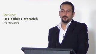UFOs über Österreich - Zeugenberichte und Dokumente aus der Alpenrepublik (Mario Rank) | ExoMagazin