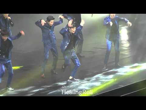 [healing_roll]150531 EXO'luXion in Shanghai  CALL ME BABY 艺兴focus 장이씽 엑소 레이 张艺兴 yixing lay