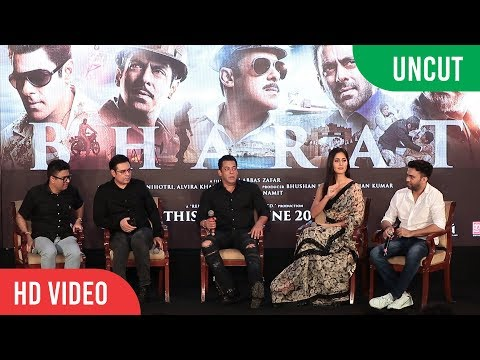 ZINDA  Song Launch  BHARAT  Salman Khan Katrina Kaif Ali Abbas Zafar  COMPLETE