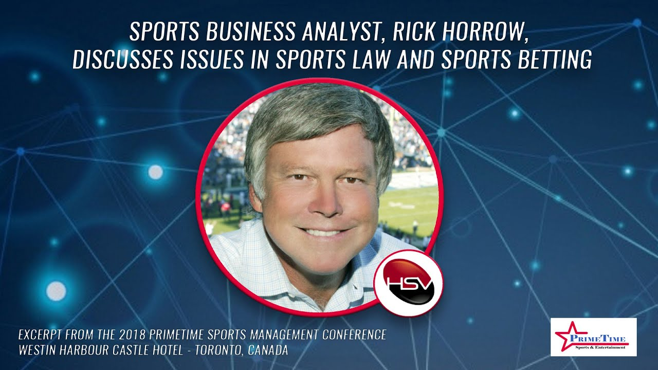 Download Throwback - Clip 97 - Rick Horrow Discusses Issues in Sports Law and Sports Betting