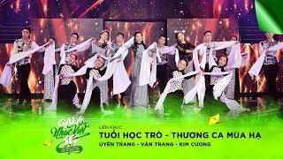 Liên khúc: Tuổi Học Trò, Thương Ca Mùa Hạ - Uyên Trang, Vân Trang, Kim Cương | Gala Nhạc Việt 10