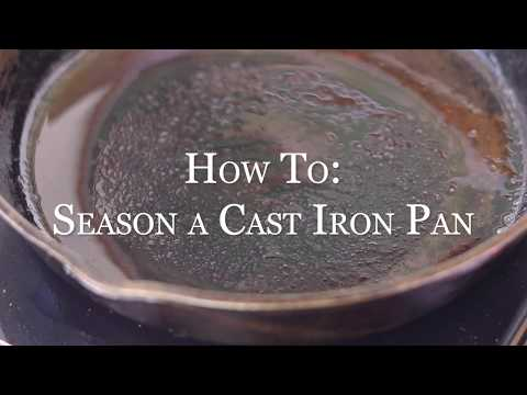 How - To: Season a Cast Iron Skillet