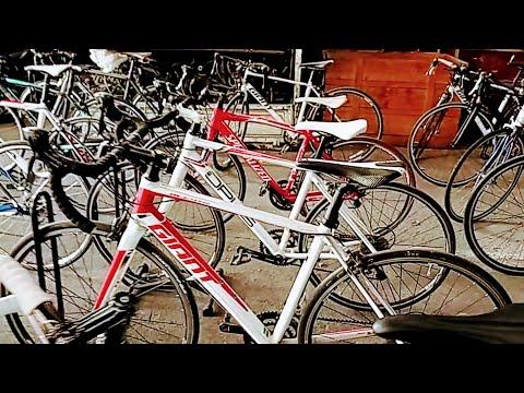 จักรยาน เสือหมอบมือ2 คุยราคากันกับพี่เช็ง Lot ใหม่ที่เข้ามา โกดังจัดรยานเสือหมอบมือ2 พระราม3 79