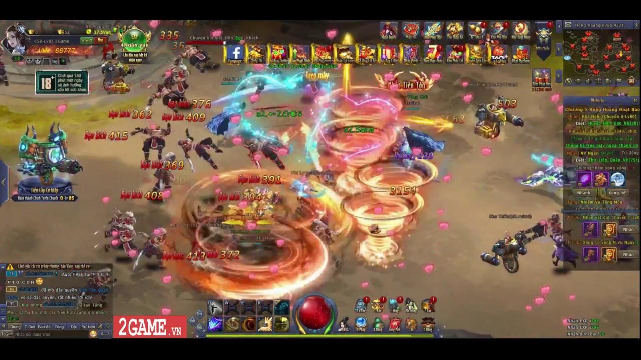 Cận cảnh webgame Bá Đao trong ngày đầu mở cửa  thử nghiệm tại Việt Nam