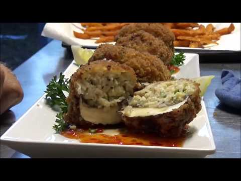 The BEST GATOR Recipe EVER Fried Gator Balls with Bay Scallops