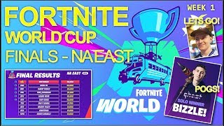 VIVID & BIZZLE qualify for the FORTNITE World Cup Finals - Week 1 NA East