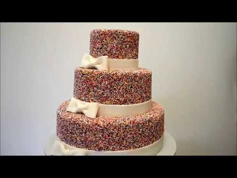 wedding cake with sprinkles sprinkles theme wedding cake a for sprinkles 26963