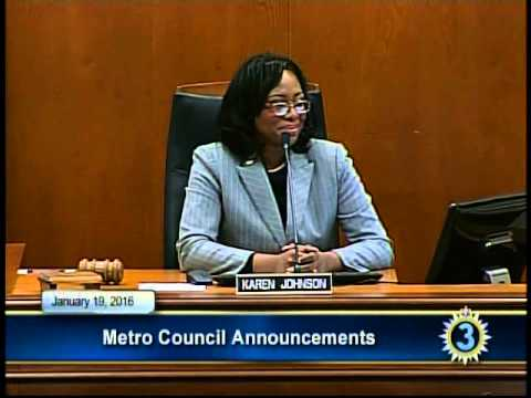 01/19/16 Metro Council Meeting