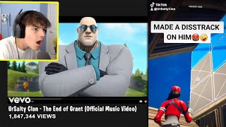 My Fortnite TIKTOK Clan made a DISS TRACK on me...