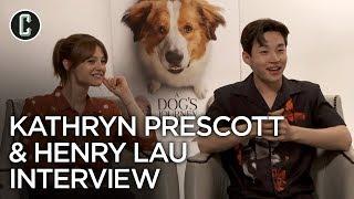 Henry Lau & Kathryn Prescott Interview A Dog's Journey