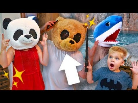 Download Youtube: ANIMAL HEAD MAGIC COSTUME SKIT! ✨W/ OUR NEW INTRO!✨