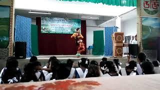 খাইরুন সুন্দরীর নাচ। বিড়ইঢাকুনী উচ্চ বিদ্যালয়।