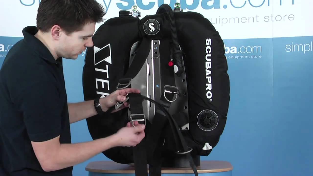 Scubapro X-Tek Pure Tek System 18 kg Donut Wing