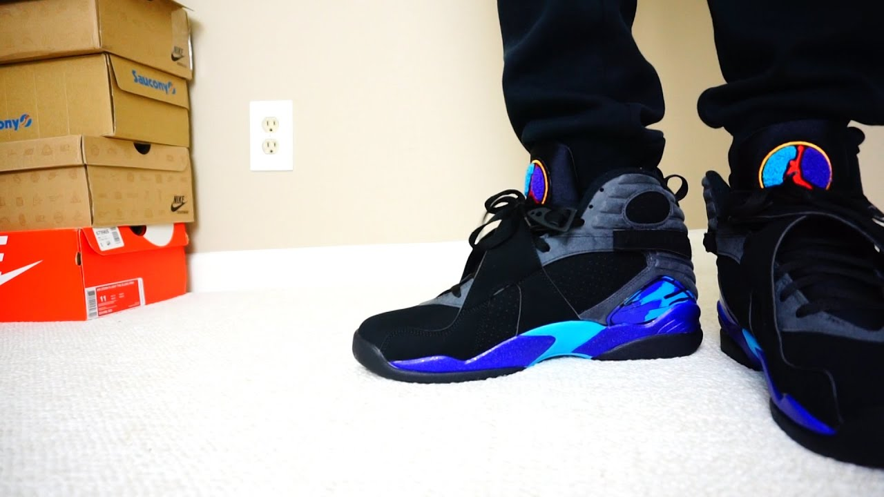 air jordan retro 8 aqua reviews