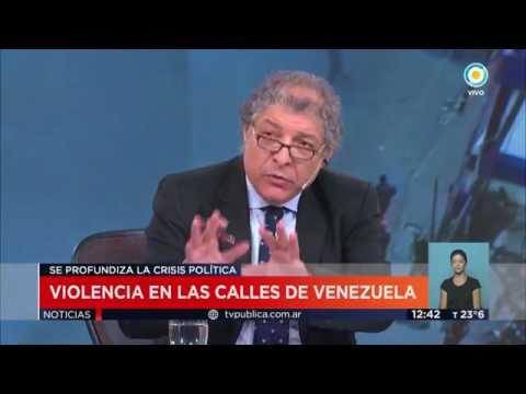 La crisis en Venezuela, Modesto Guerrero    Television Publica Noticias Internacional