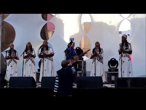 Moulay Hmed - Asmaa Hamzaoui à salé au Festival Jazz au Chellah 2017