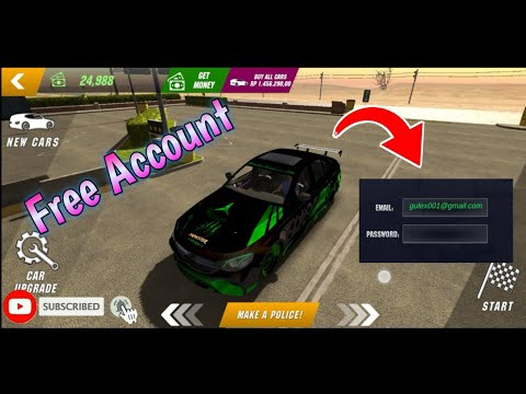 Always Free Account Car Parking Multiplayer Youtube