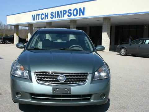 2005 nissan altima 4dr sedan 2 5 sl leather loaded great for Mitch simpson motors cleveland ga