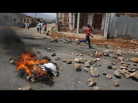 Cronologia da crise política no Burundi