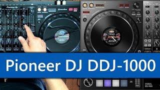 Full review of the Pioneer DJ DDJ-1000 Rekordbox DJ controller!