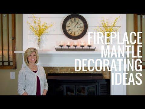 Fireplace Mantle Decorating Ideas - Jennifer Decorates