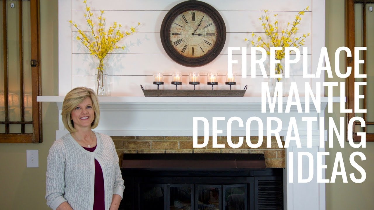 Fireplace Mantle Decorating Ideas Jennifer Decorates Youtube