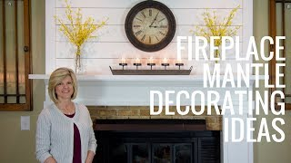 Fireplace Mantle Decorating Ideas   Jennifer Decorates