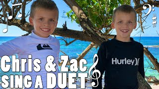 Zac & Chris Sing a Duet - Family Fun Pack Music Video