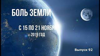 Катаклизмы за неделю с 15 по 21 ноября 2019 года