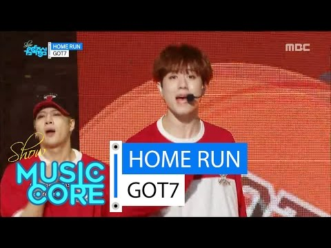 [HOT] GOT7 - HOME RUN, 갓세븐 - 홈런 Show Music core 20160423
