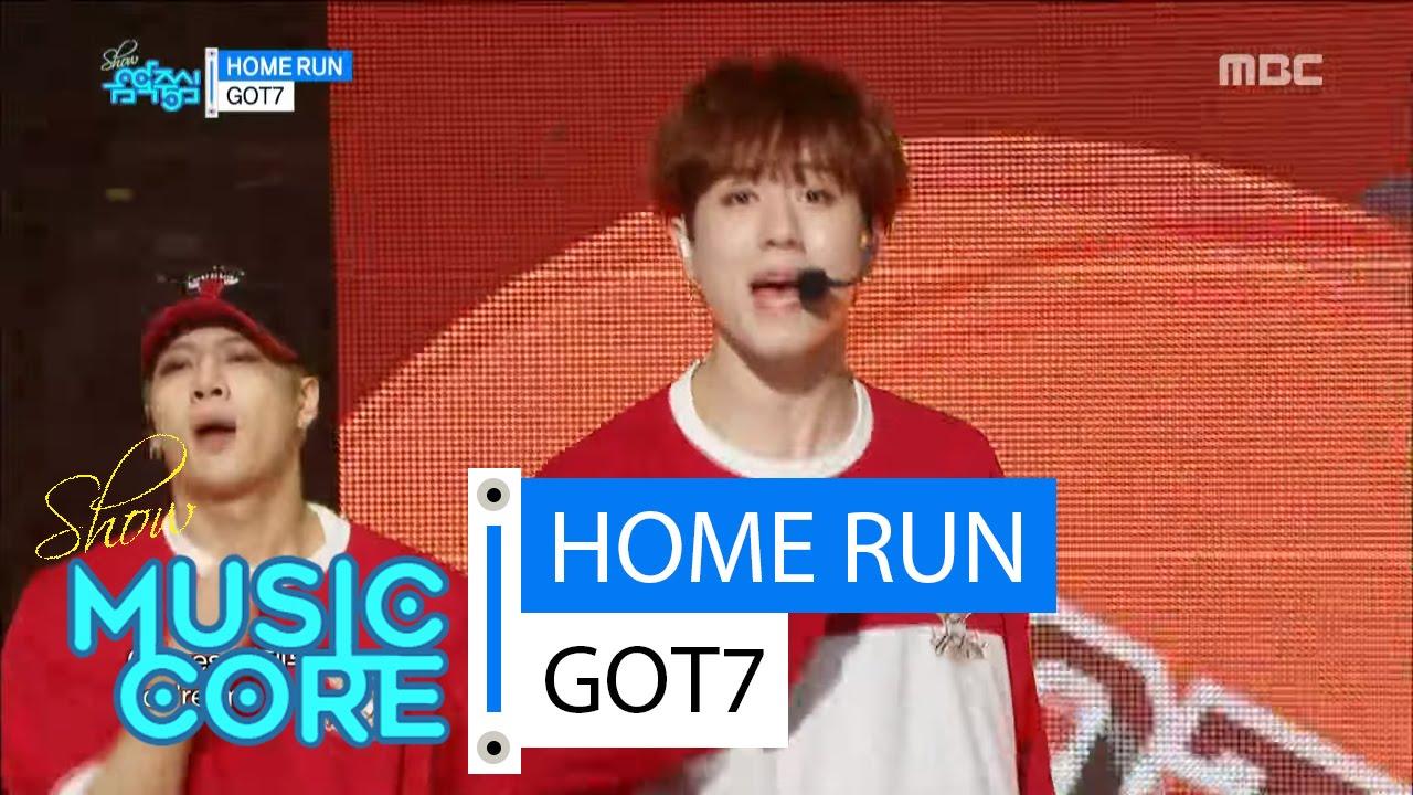 [HOT] GOT7 - HOME RUN, 갓세븐 - 홈런 Show Music core 20160423