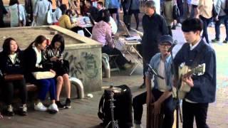 Busking in Seoul: