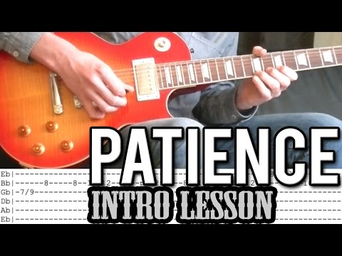 Guns N'Roses - 'Patience' Intro Guitar Lesson (With Tabs)