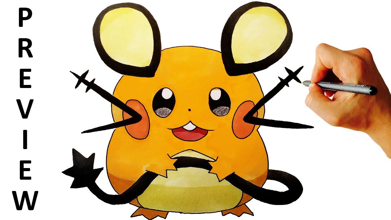 how to draw pokemon x
