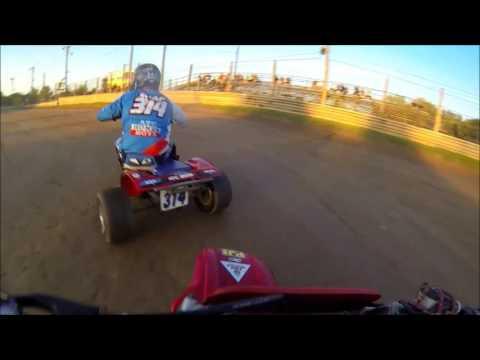 NETR paradise speedway trike 200 class HEAT 9-3-16