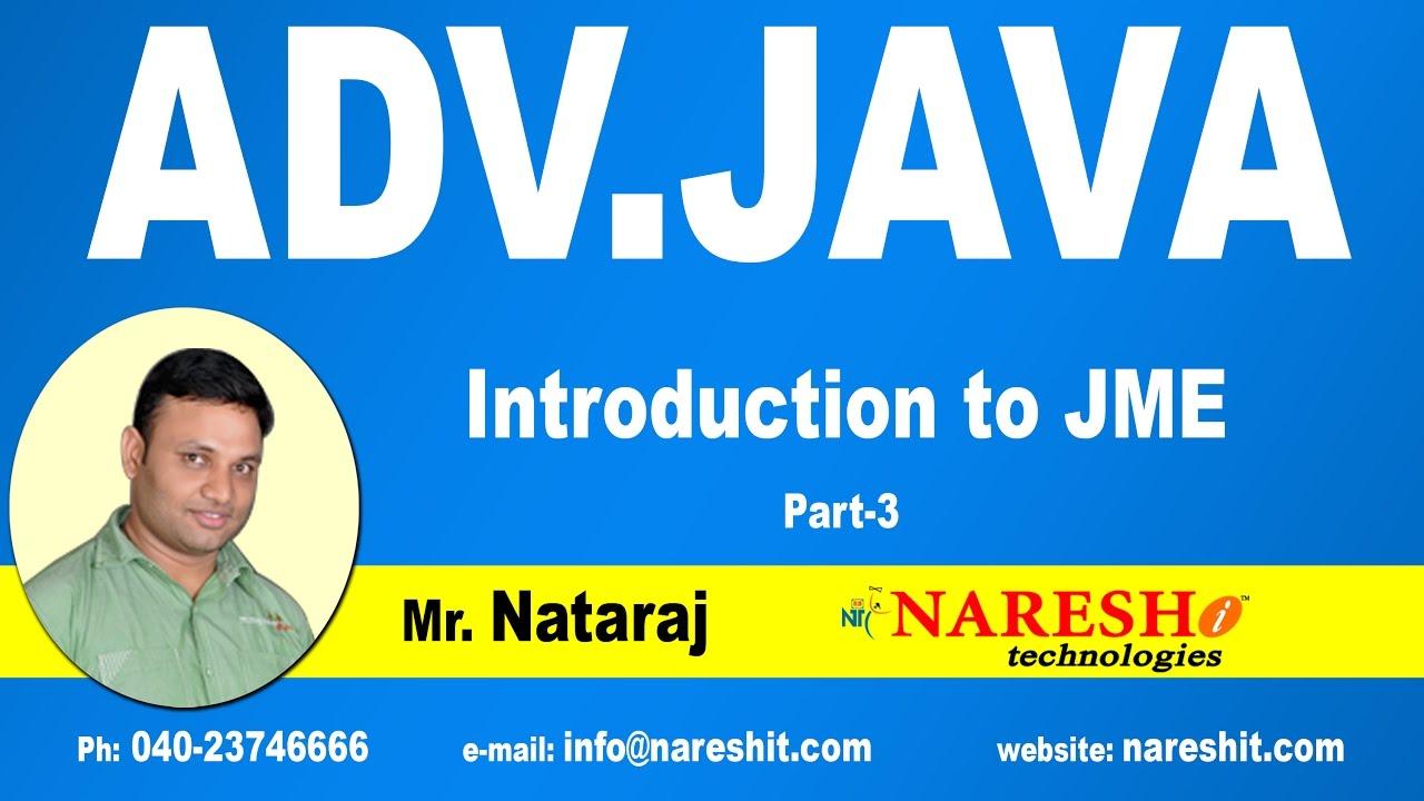 Introduction to advanced java jme part 3 advanced java tutorial introduction to advanced java jme part 3 advanced java tutorial baditri Gallery