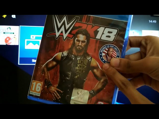 WWE 2K18 Unboxing And Gameplay in Hindi