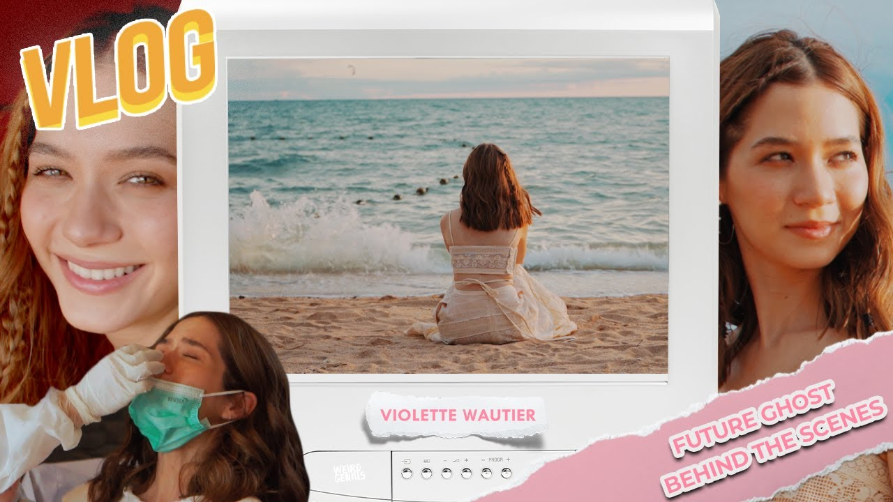 """Violette Wautier's VLOG """"Future Ghost"""" Behind The Scenes"""