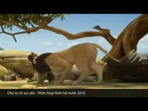 Cartoon Funny The Best   Lions Unlucky