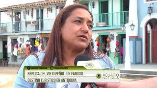 Réplica del Viejo Peñol, un famoso destino turístico en Antioquia