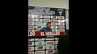 Declaraciones de Bartolotta (Puebla F.C. Vs Cruz Azul)