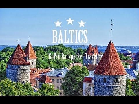 BALTICS | Backpacking (Finland, Estonia, Latvia, Lithuania) | GoPro Hero 3+ 1080p HD