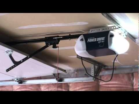 Chamberlain Garage Door Opener Youtube