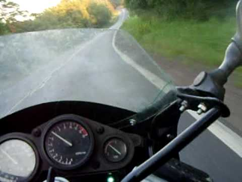 yamaha fzr 600 3he 90 on polish road youtube. Black Bedroom Furniture Sets. Home Design Ideas