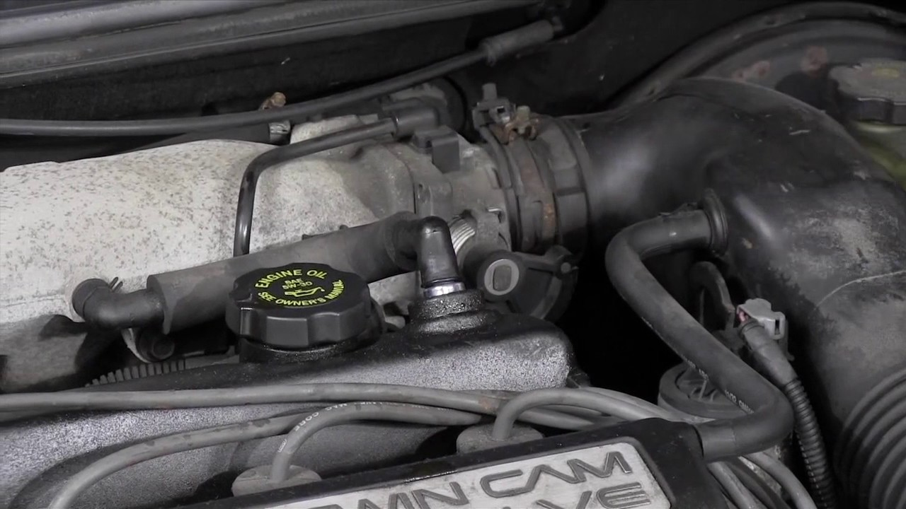 how to test and replace a pcv valve saab 9 3 engine diagram also 1997 mercury villager pcv valvula ford [ 1280 x 720 Pixel ]