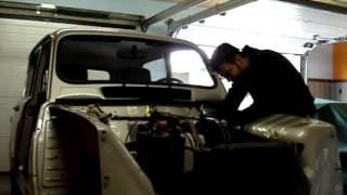 Renault 4 GTL 1987 : redémarrage initial