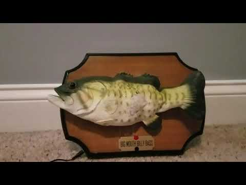 1999 Big Mouth Billy Bass Singing Fish